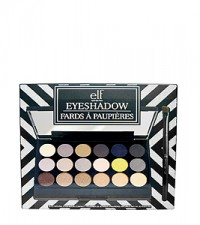 E.L.F. Cosmetics Natural Eyeshadow Compact, 18 Pieces